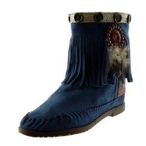 BOTTINE Angkorly - Chaussure Mode Bottine Botte bottes ind