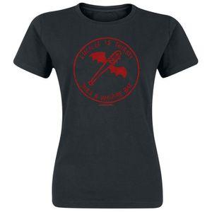 T-SHIRT The Walking Dead Lucille Vampire Bat T-Shirt Manch