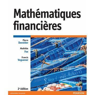 Mathématiques financières - Achat   Vente livre Pierre Devolder ... f9af6031e55d