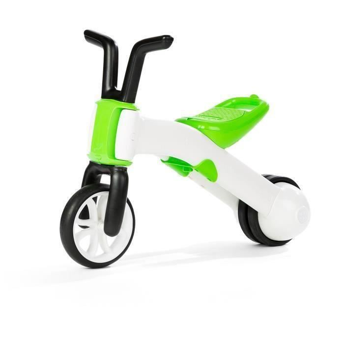 La draisienne à 3 roues se transforme en vélo de marche à 2 roues en un tour de main sans aucun outilDRAISIENNE
