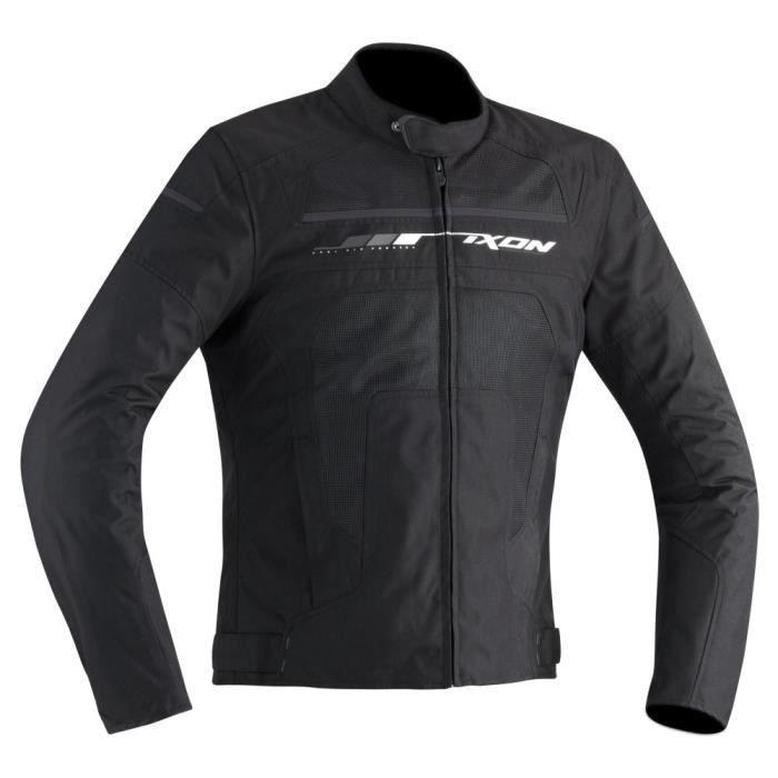 IXON Blouson Moto Helios Noir et Gris