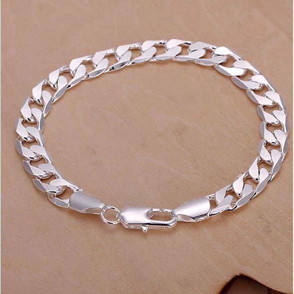 bracelet homme en argent 925 achat vente bracelet. Black Bedroom Furniture Sets. Home Design Ideas