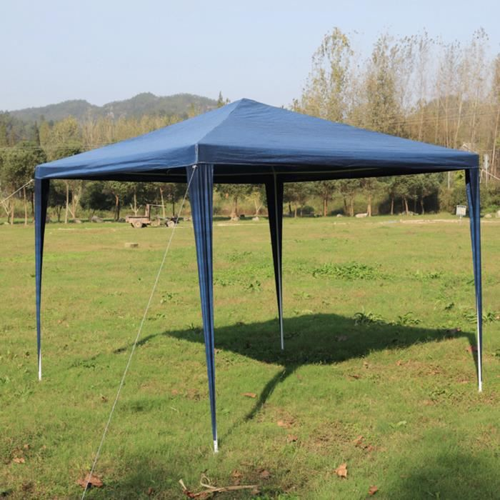 Nouveau 3x3 Tente de Reception Etanche pour jardin Fête mariage belu ...