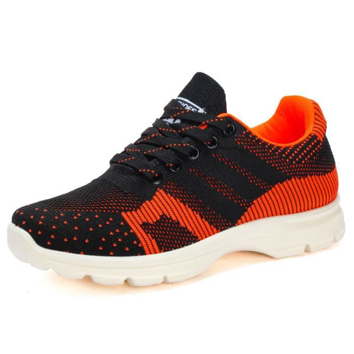 Femmes Chaussures Casual Chaussures Spring Mesh Fly Weave chaussures de mode respirant Chaussures confortables Chaussures de sport