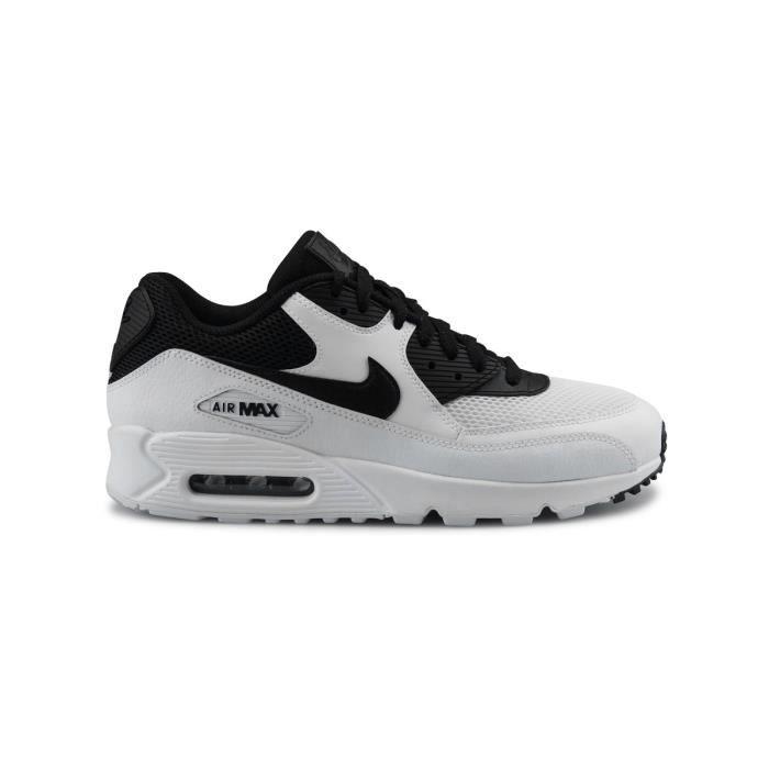 San Francisco 9c192 a1448 Nike Air Max 90 Essential Blanc Blanc/noir - Achat / Vente ...