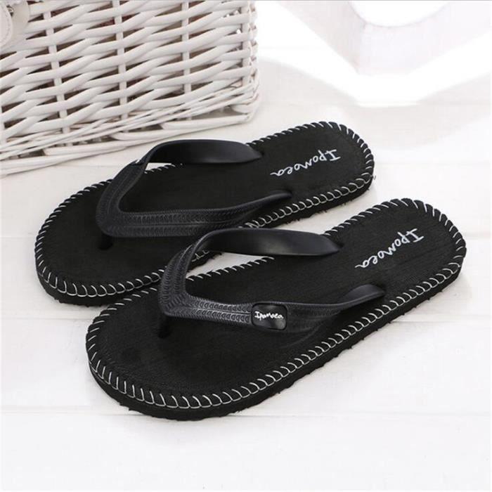 Sandales Plates Homme Chaussure Marque De Luxe Qualité SupéRieure Pantoufles D'éTé Nouvelle Hommes Sandales Plus De Couleur,blanc,45