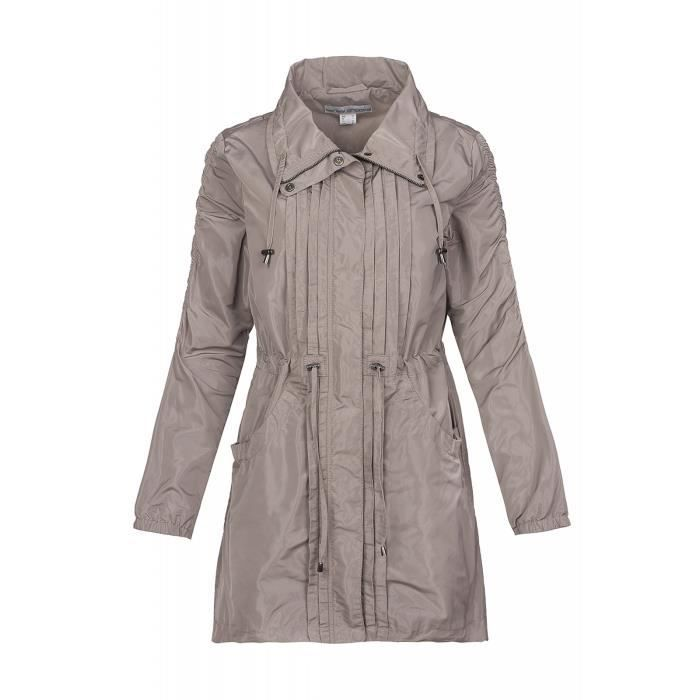 ashley brooke by heine Veste Parka Outdoor Femme Gris