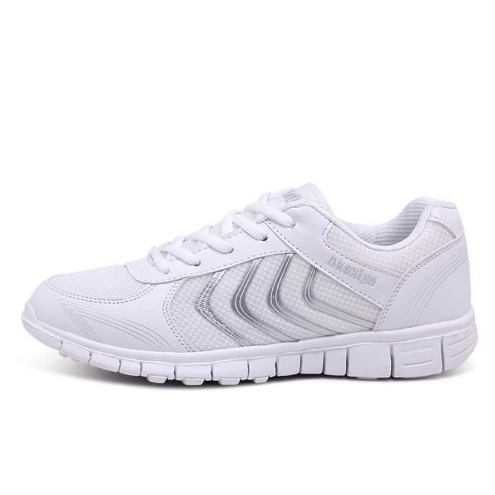 hiver BBZH Léger Homme Sport Respirant Baskets Jogging Chaussures XZ230Blanc44 Chaussure Ultra OAEafwpq