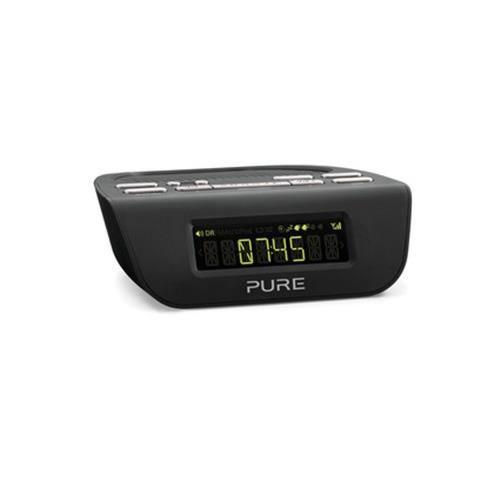"Pure Siesta Mi, Series Ii, Horloge, Numérique, Dab,fm, 1 W, 6,35 Cm (2.5""), Lcd"