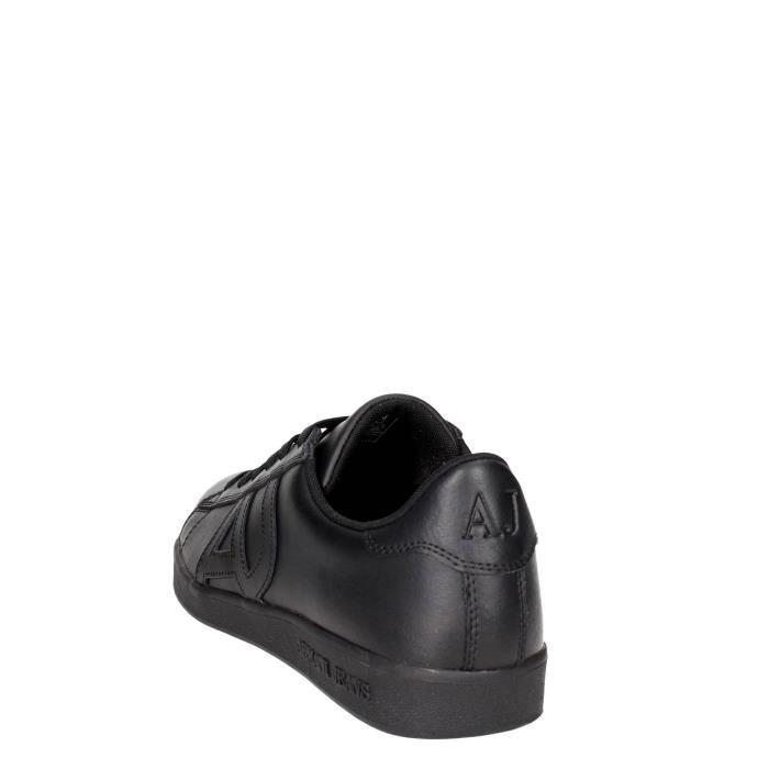 Armani Jeans Petite Sneakers Homme Noir, 45
