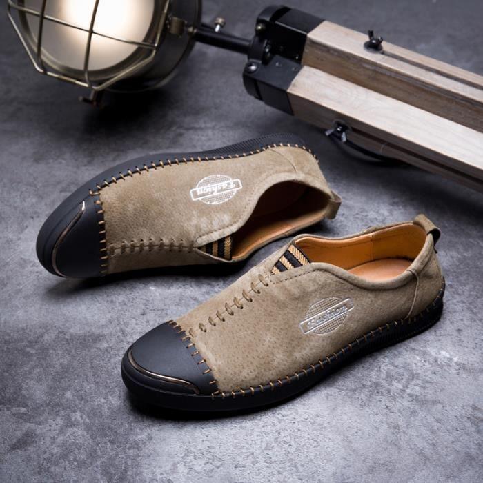 Nouveauxdécontractéess Nouveauxdécontractéess Chaussures de Kaki 44 1207 1207 ville Kaki 1207 de 44 ville Chaussures qBFwAP
