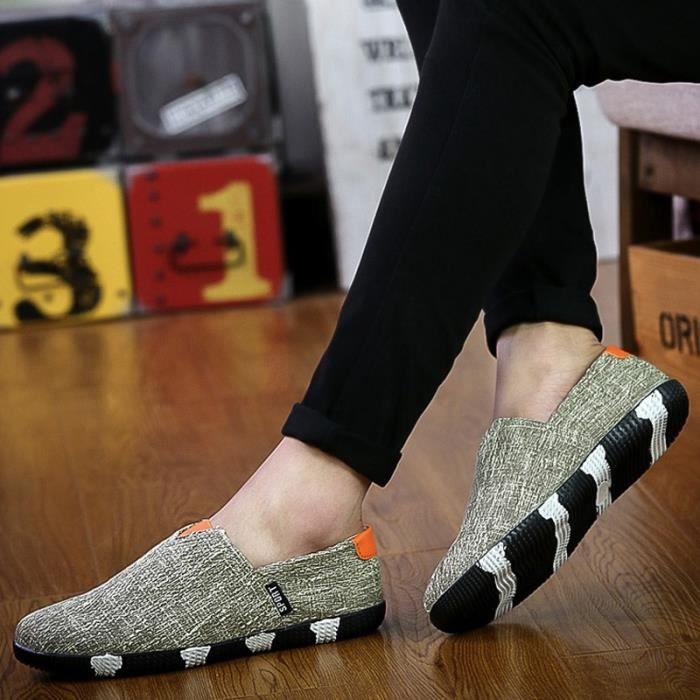 chaussures multisport Homme Marque Sport Outdoor de haute qualité Slip respirant de printemps noir taille7 2rLps4BW