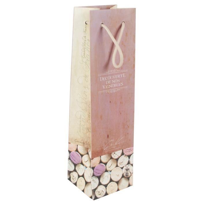Pochette à bouteille Bouchons roses