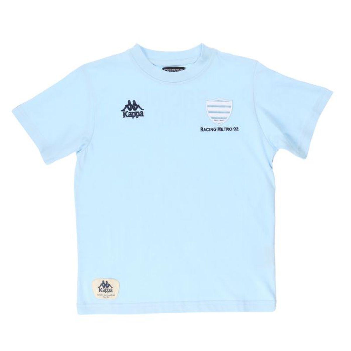 Shirt Pas Prix Metro Rugby Racing Enfant Kappa T Cher Garçon UOqw50x8n