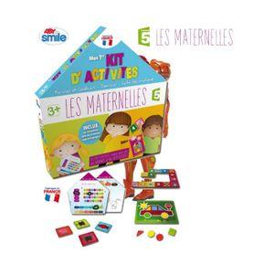 JEU D'APPRENTISSAGE Jeu Les maternelles : Mon premier kit d'activités