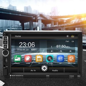 AUTORADIO SWM 8802 7 pouces écran tactile TFT 2Din Android 7