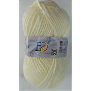 LAINE TRICOT - PELOTE lot de 4 pelotes laine écru tricoter 100% Acryliqu eb8fe44a6a3
