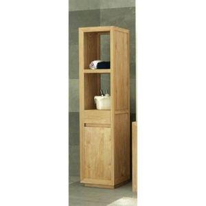 colonne teck achat vente colonne teck pas cher cdiscount. Black Bedroom Furniture Sets. Home Design Ideas