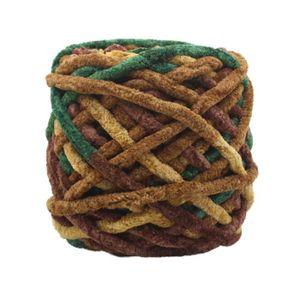 LAINE TRICOT - PELOTE Fil à tricoter de tricotage de laine de soie natur