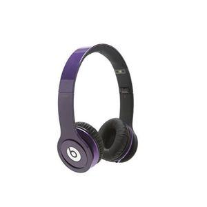CASQUE - ÉCOUTEURS Beats Solo HD CT violet Headphones Écouteur