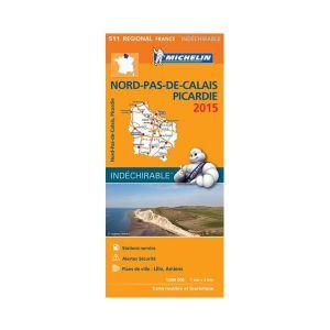 AUTRES LIVRES Carte routière et touristique Régional France Nord