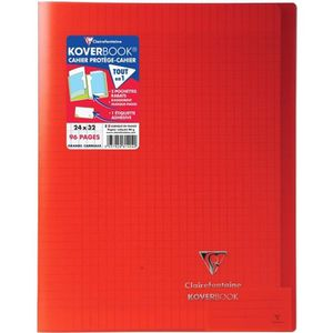 CAHIER CLAIREFONTAINE - Cahier piqûre KOVERBOOK - 24 x 32