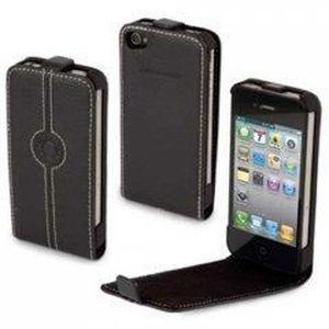 FACONNABLE Etui Flap pour iPhone 4 - Noir - Achat   Vente FACONNABLE ... 7de7d4053cf8