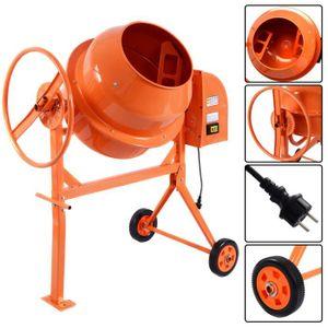 BÉTONNIÈRE  Bétonnière électrique cement mixer modèle 140L 65