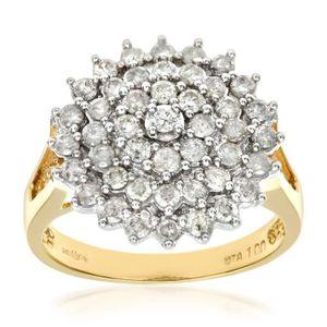 BAGUE - ANNEAU Revoni Bague Diamant Or Jaune 750° Femme: Poids du