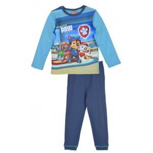 CHEMISE DE NUIT Pyjama long Pat Patrouille bleu 100 % coton