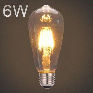 AMPOULE - LED Ampoule Edison ampoule LED filament vintage E27 lu