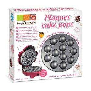 """PIÈCE DE PETITE CUISSON Plaque cake pops pour """"atelier gateaux cupcake et"""