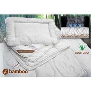 COUETTE Couette et oreiller bébé en Bambou - hypoallergéni