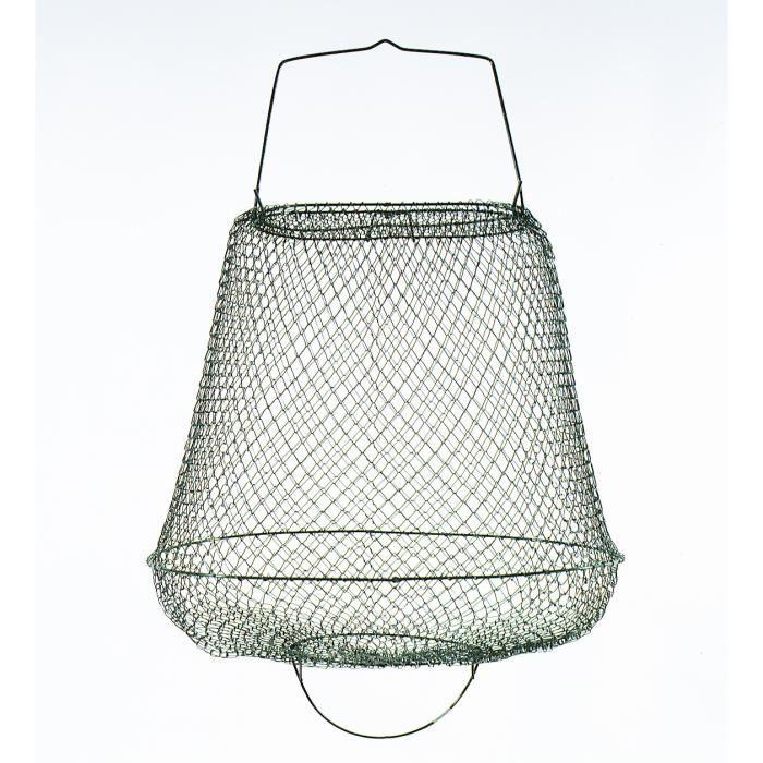 LINEAEFFE Bourriche métallique sans cou 40x28 cm
