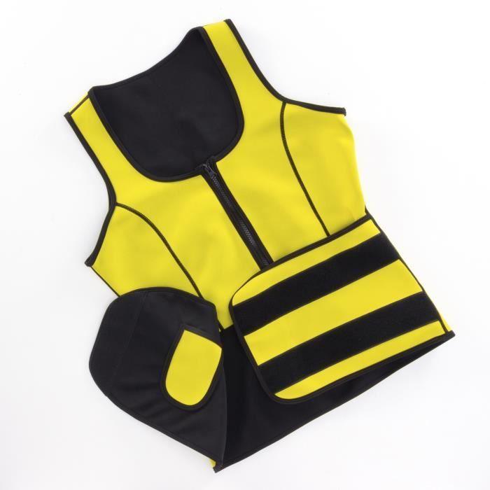 INNOVAGOODS Gilet-ceinture de sport avec effet sauna - Femme - Taille M