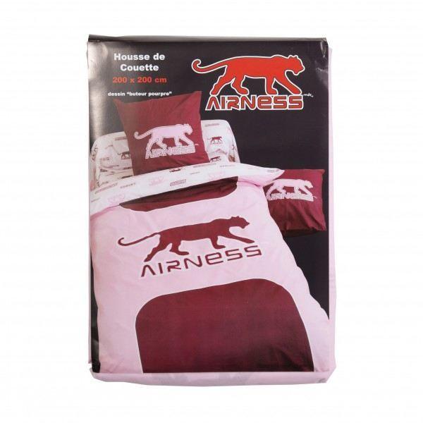 linge de lit airness Housse de couette Airness Buteur Pourpre 200*200   Achat / Vente  linge de lit airness