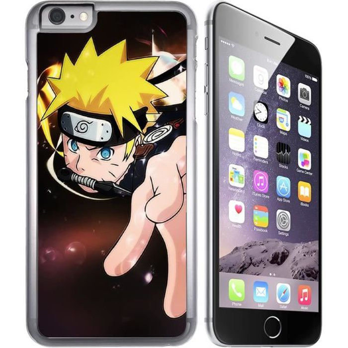 iphone 8 coque naruto