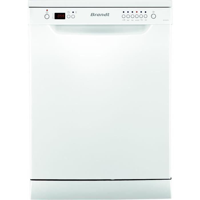 LAVE-VAISSELLE Lave-vaisselle 60cm BRANDT DFH 12227W