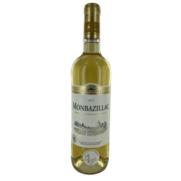 monbazillac vin du sud ouest blanc 75 cl club des sommeliers achat vente vin blanc. Black Bedroom Furniture Sets. Home Design Ideas