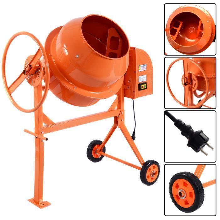 b tonni re lectrique cement mixer mod le 140l 650w mortier achat vente b tonni re. Black Bedroom Furniture Sets. Home Design Ideas