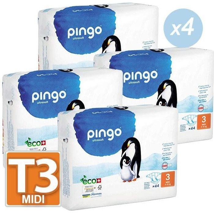 Couches Pingo T3 49kg Lot De 176 2 Cartons De 88 Achat Vente