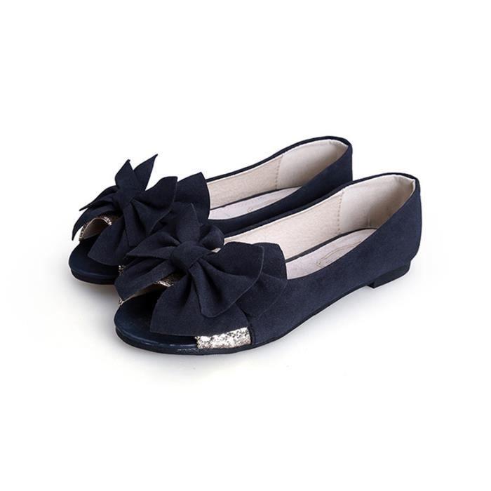 Bleu Ballerine Femme Fashion Couleur Chaussure Achat 8nwO0kPX