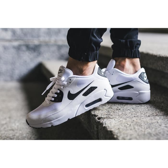 online store cadc3 4883e BASKET Baskets Nike Air Max 90 Ultra 2.0 Essential Blanch