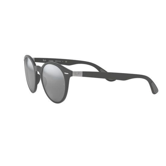 Lunettes de soleil Ray Ban RB-4296 -633288 - Achat   Vente lunettes de  soleil Homme Adulte Gris - Soldes  dès le 9 janvier ! Cdiscount a8f4710494bc