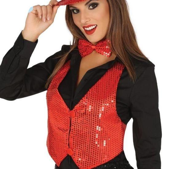 rouge Pour Paillettes Vente Achat Couleur Femme Veste pH45PIxnI