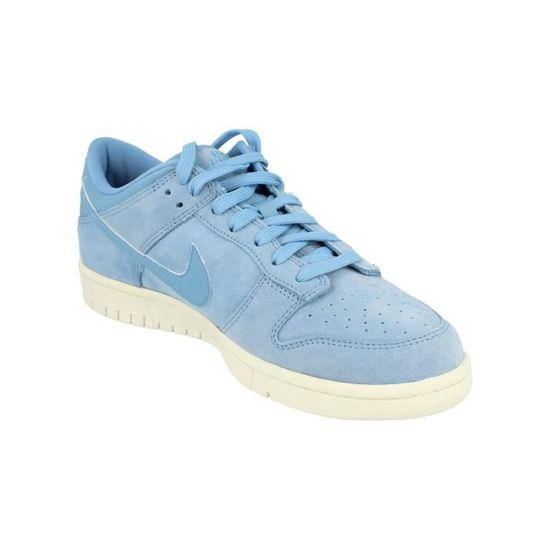 low priced e688f 2956b Nike Dunk Low PRM Hommes Trainers 921307 Sneakers Chaussures 400 Bleu Bleu  - Achat   Vente basket - Cdiscount