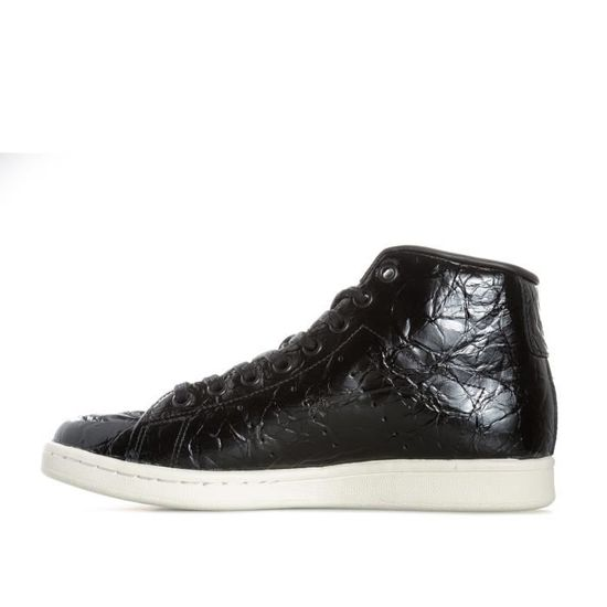 Baskets montantes adidas Originals Stan Smith pour femme Noir Noir - Achat / Vente basket - Cdiscount