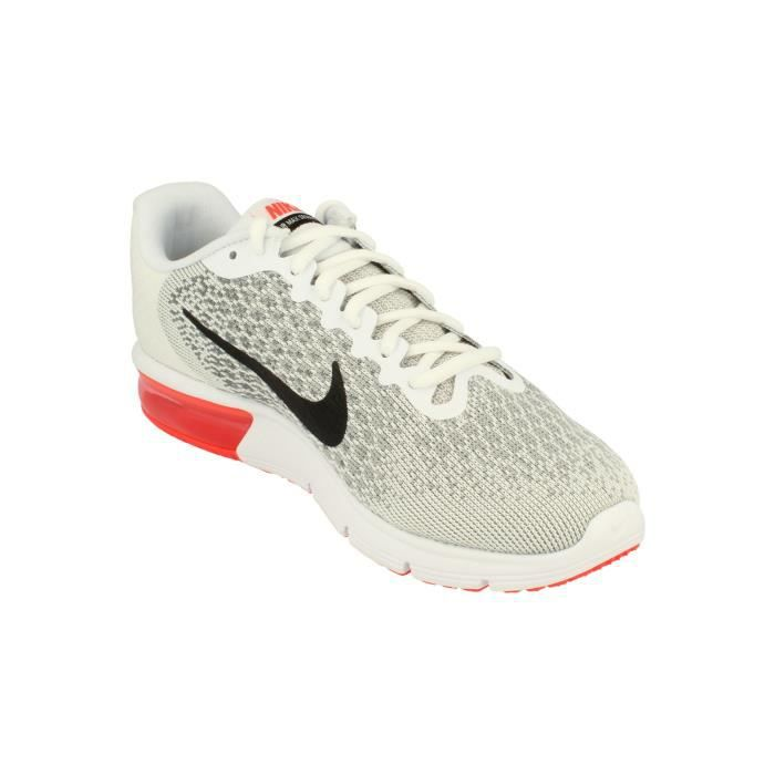 Nike Air Max Sequent 2 Hommes Running Trainers 852461 Sneakers Chaussures 116 8npE0g