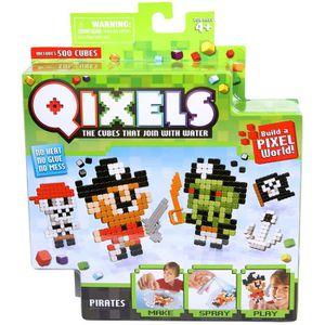 Mini kit 4 créations Qixels (Théme Pirates)
