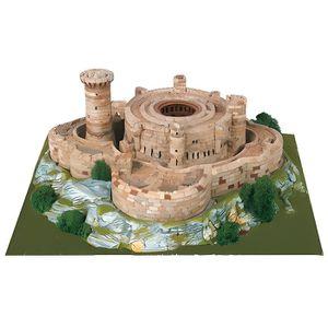 GARAGE - BATIMENT Maquette en céramique - Château de Bellver
